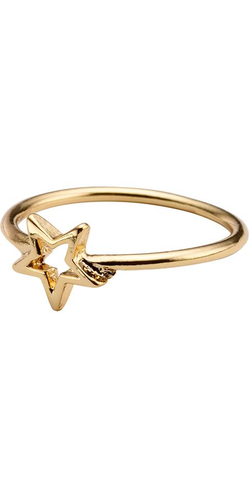 Whistles Falling star charm ring