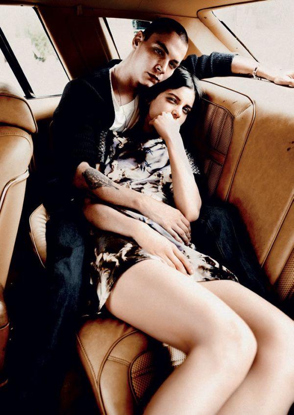 Tati Cotliar and Yuri Pleskun by Jason Kibbler Twin Magazine #5 F/W 2011 hey crazy blog fashion editorial