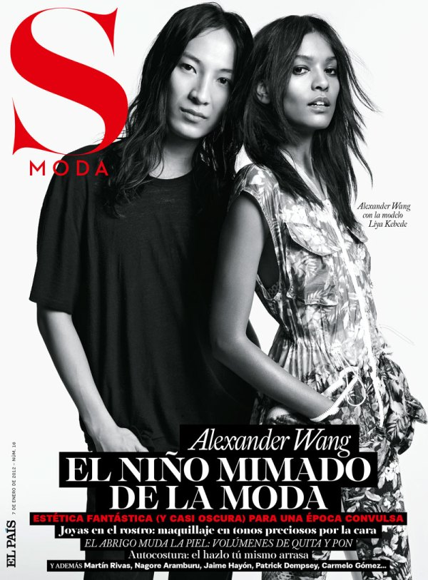Alexander Wang & Liya Kebede by Amy Troost S Moda January 2012  Maria Bradley by Amy Troost