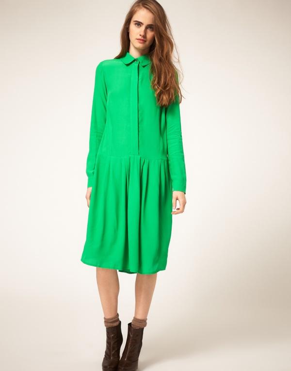 ASOS Drop Waist Shirt Dress, spring 2012