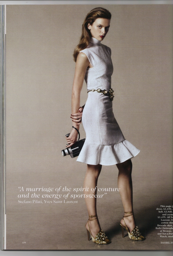 Photographed by Daniel Jackson Vogue UK February 2012