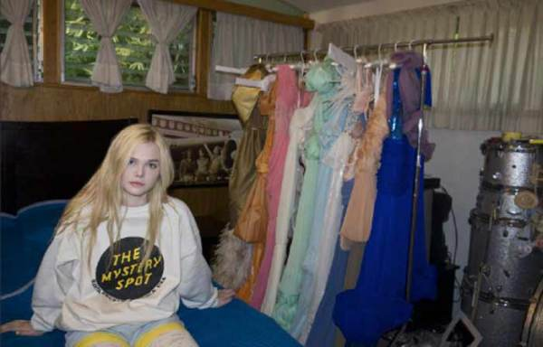 Elle Fanning by Bill Owens @ Rodarte designers, Kate & Laura Mulleavy's home, state of California SS12 couture
