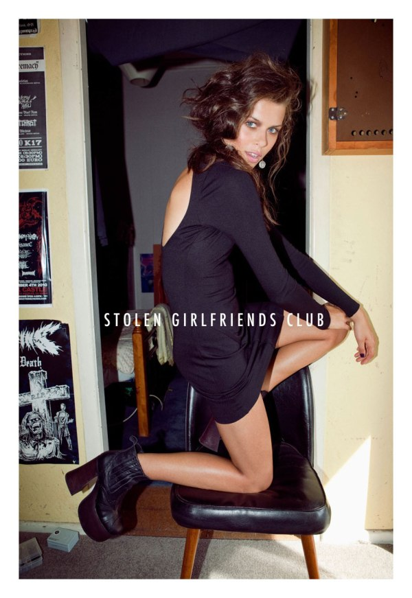 Georgia Fowler by Derek Henderson Stolen Girlfriends Club A/W '12 Campaign