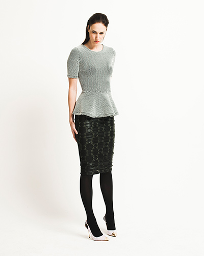 H&M spotted peplum top, fashion trends spring summer 2012, David Newby for the Guardian