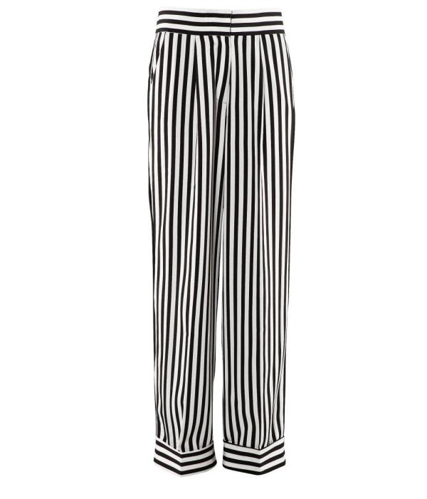 H&M Stripe PJ trousers