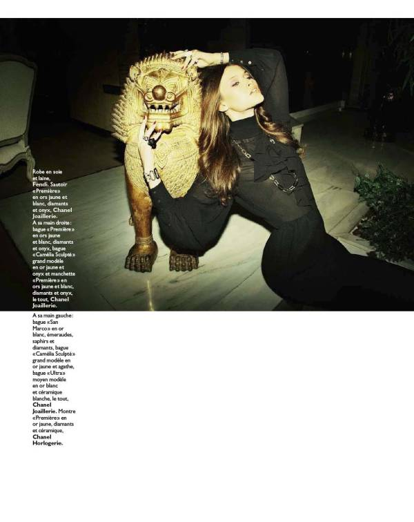 2012 The chinese year of the Dragon Grazia France N 120 House Wife Paradise by Richard Bermardin