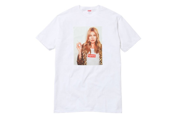 Supreme x Kate Moss Spring/Summer 2012 t-shirt