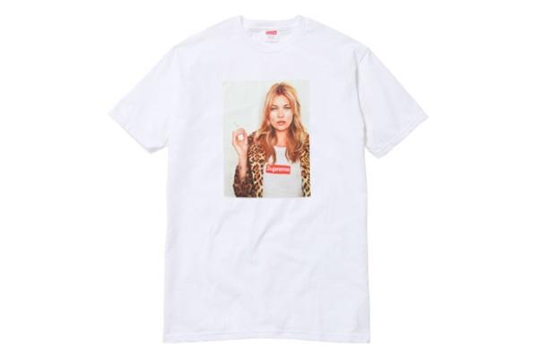 Supreme x Kate Moss Spring/Summer 2012 t-shirt