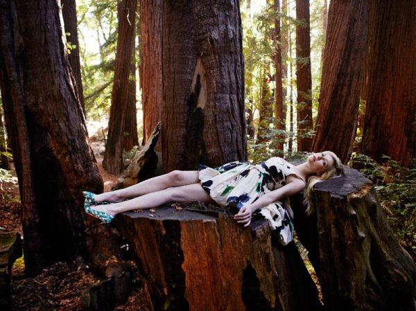 Kirsten Dunst by Yelena Yemchuk Vogue Italia February 2012 actress