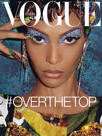 #overthetop  Joan Smalls by Steven Meisel  Vogue Italia March 2012