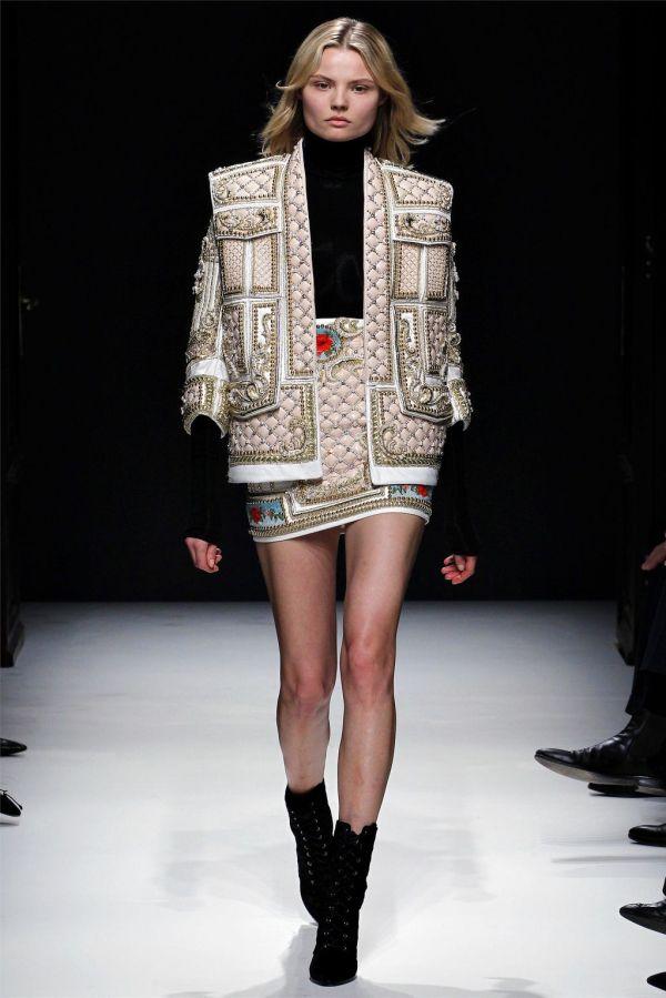 Balmain Fall/Winter 2012-13 New York Fashion week