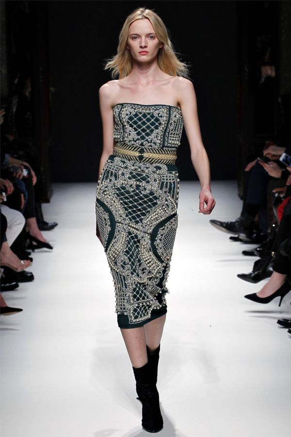 Balmain Fall/Winter 2012-13 New York Fashion week