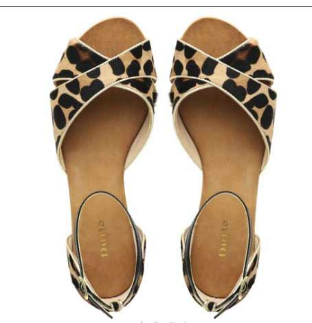 JUPITER D - Animal Print Pony skin Flat Sandals leopard print  Dune shoes