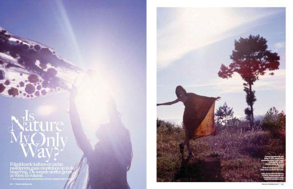 Vogue Netherlands July / August 2012 Photographer: Mark Borthwick Model: Jacquelyn Jablonski