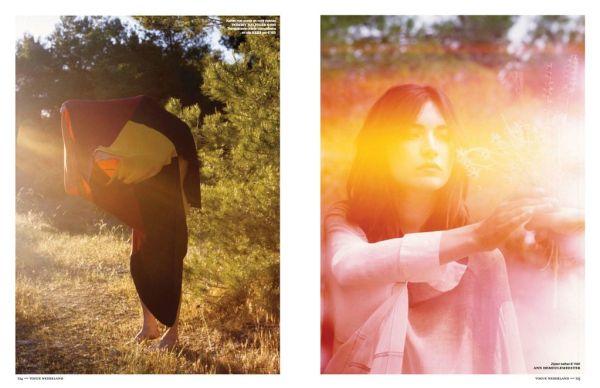 Jacquelyn Jablonski by Mark Borthwick Vogue Netherlands July / August 2012