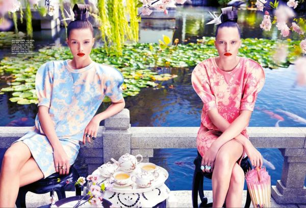 Orient Express styled by Jana Pokorny Marie Claire Australia September 2012