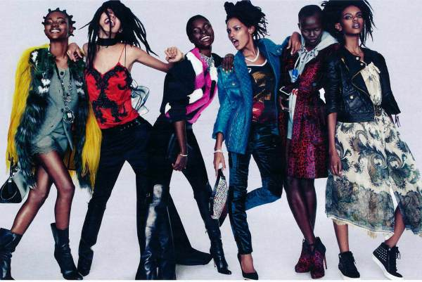Photography by by Greg Kadel Vogue Germany September 2012 balmain, balenciaga,