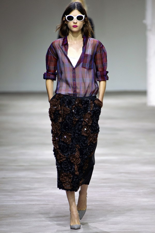 Dries Van Noten S/S 2013 Paris runway collection show