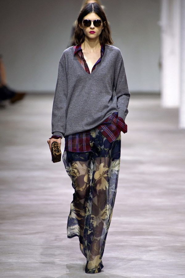 Dries Van Noten S/S 2013 Paris runway collection show