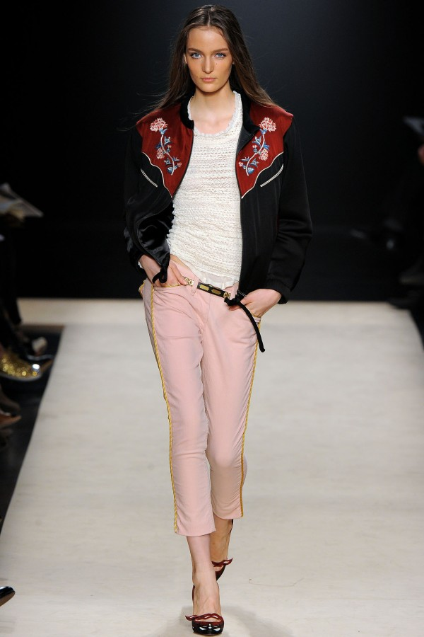 Isabel Marant Lindsey embroidered sateen jacket A/W 2012-13 collection