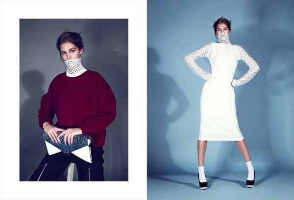 Samantha Gradoville by Koray Birand Harper's Bazaar Turkey January 2013