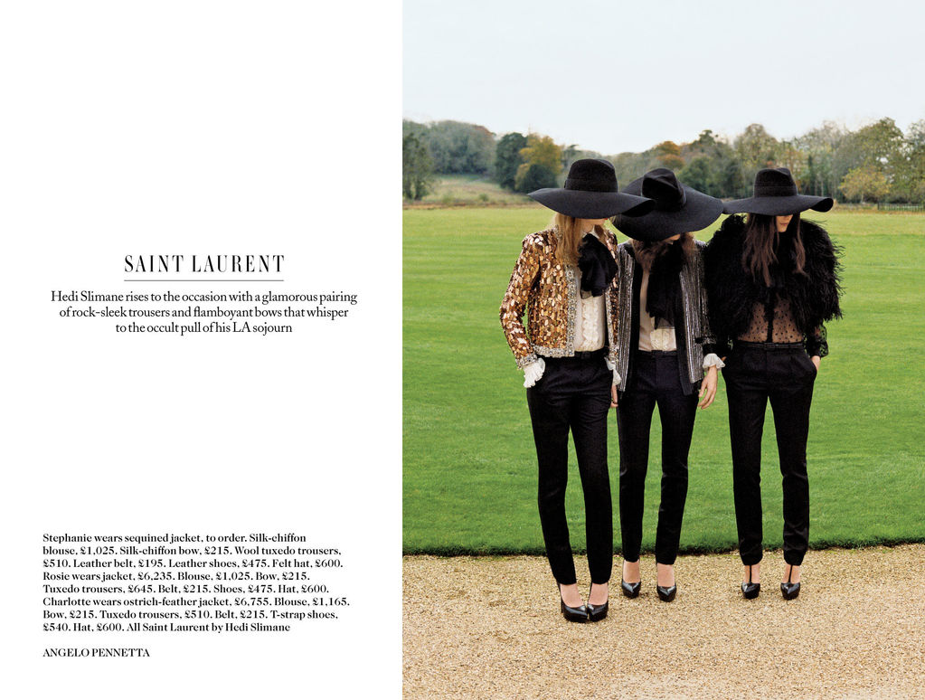 ... first collection for Saint Laurent. Luckily I class myself as a fashion  psychic 8eb3fcde830