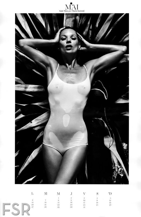 Kate Moss Vogue Paris Jan 2013
