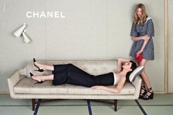 Chanel S/S 2013 : Stella, Ondria & Yumi by Karl Lagerfeld