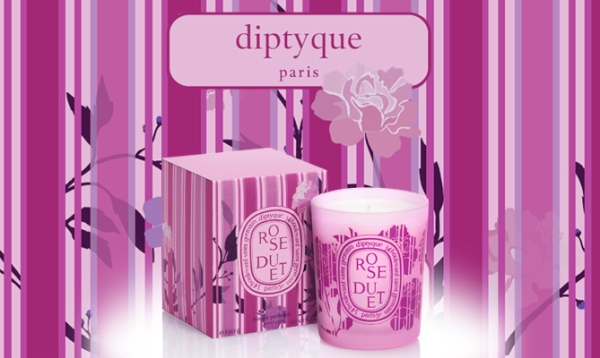Diptyque Rose Duet Candle