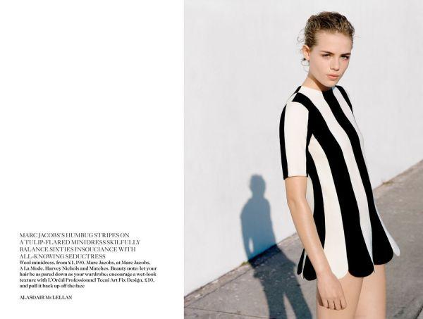 Rosie Tapner by Alasdair McLellan UK Vogue March 2013